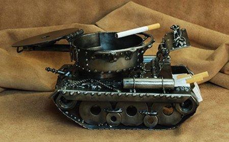 пепельница-танк