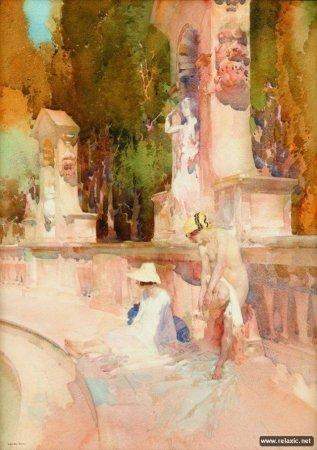 Уильям Флинт картины