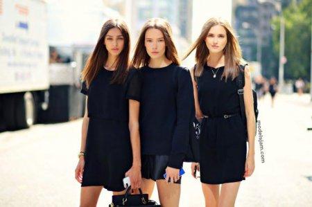Как выглядят модели вне показов. Неделя моды в Нью-Йорке