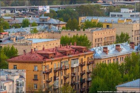 Москва, вид сверху