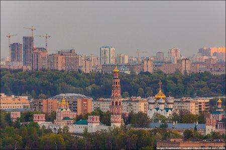 Москва с высока