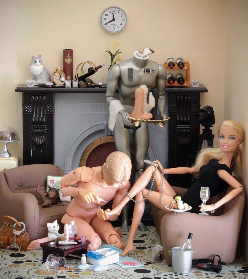 порно кукол барби фото