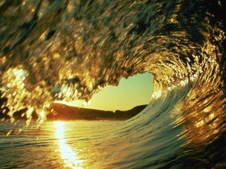 золотая волна