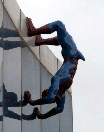 супермен делает зарядку