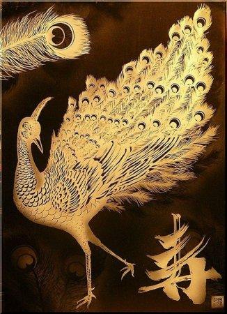 жар-птица с пером Акира Нагая
