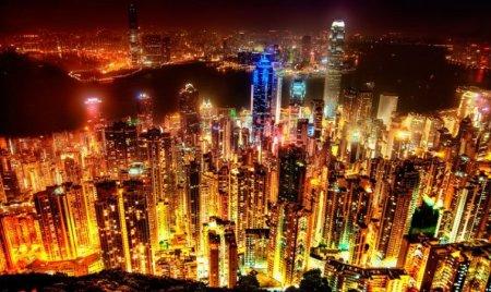 Гонконг в огне