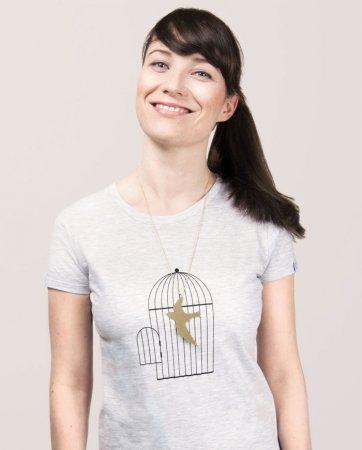 футболка с клеткой