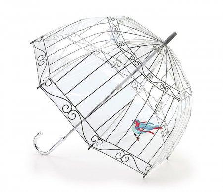птица в зонтике
