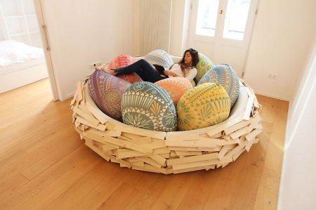 диван - гнездо