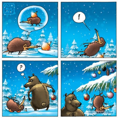 долгоносик и медведь