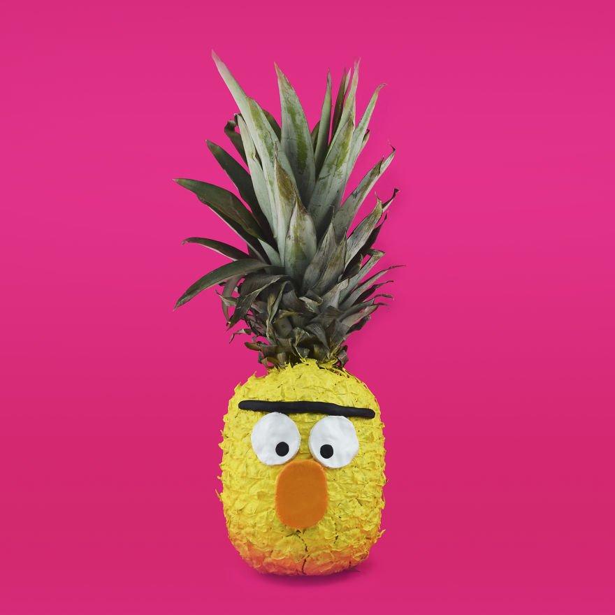 картинки ананас прикольные