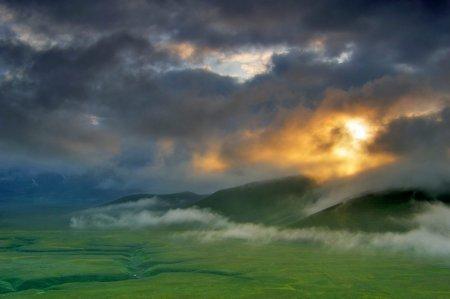 луг и горы