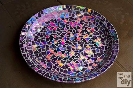 блестящая тарелка