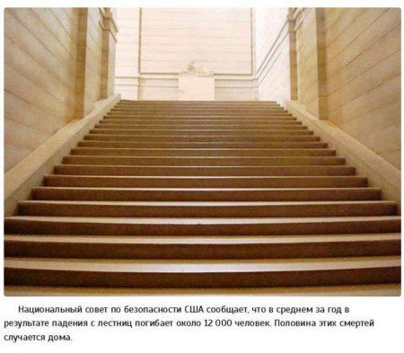 падение с лестницы