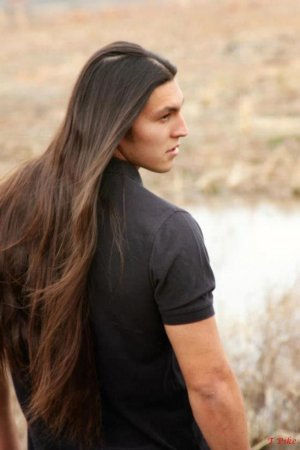 волосы по пояс