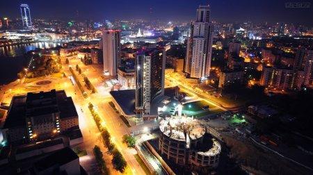 Огни ночных городов