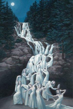 водопад из женщин