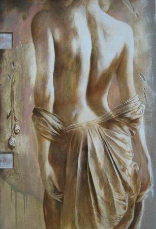 спущенное платье
