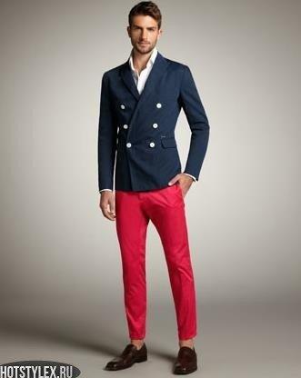 малиновые штаны