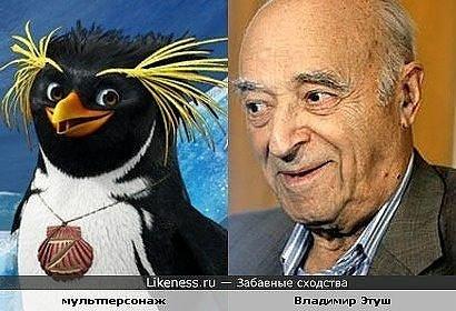 пингвин и этуш