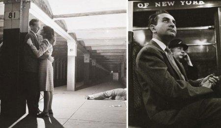 влюбленные в метро