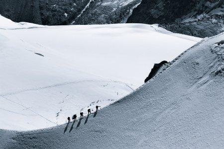 связка альпинистов
