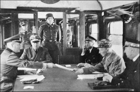 Гитлер был разочарован капитуляцией Германии в Первой мировой войне