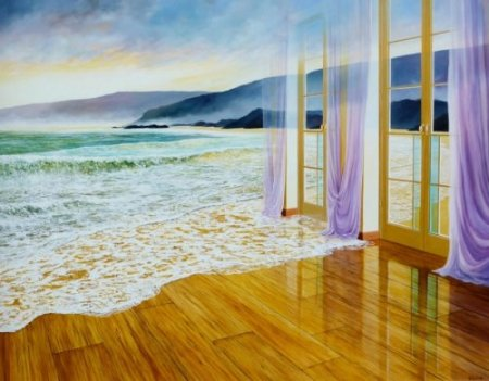 море в комнате