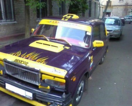 тюнинг такси