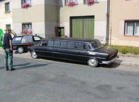 отечественный лимузин