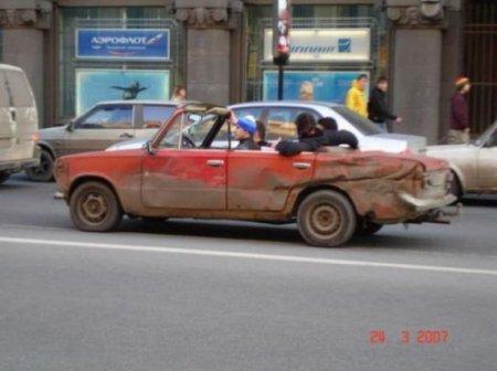 машина с откидным верхом