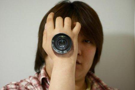 телескоп на руке