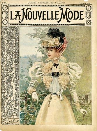 Журнал La Nouvelle Mode, июнь 1896 г.