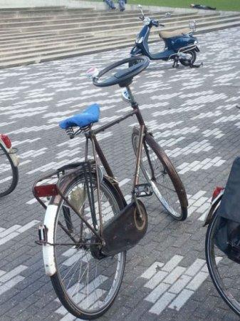 гибрид велосипеда