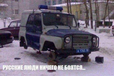 русские ничего не боятся