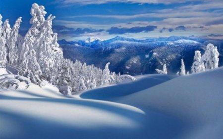 чистый снег