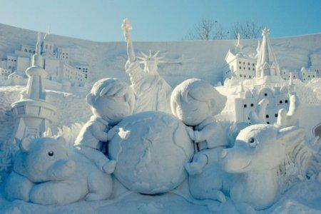 снежная панорама