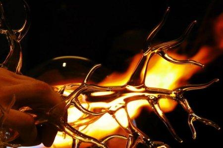 изделие в огне
