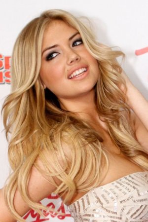 красивая блонди