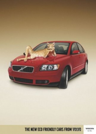 """Новая серия экологически чистых автомобилей от Volvo: """"Подружись с природой"""""""