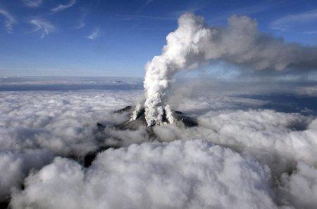 живой вулкан