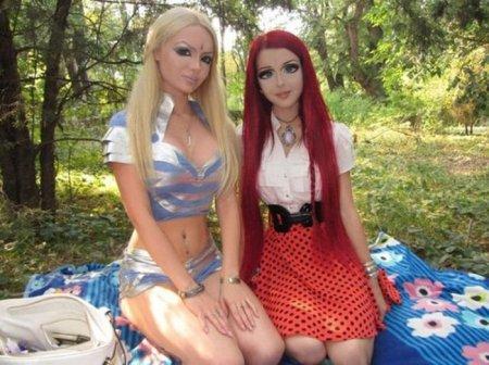 блондинка и рыжая