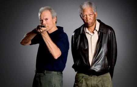 Клинт Иствуд и Морган Фримен - Непрощенный