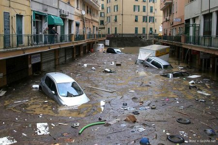 затопленная улица