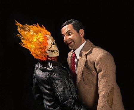 горящая голова