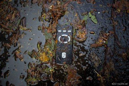 прибор в грязи