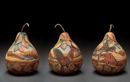 три груши