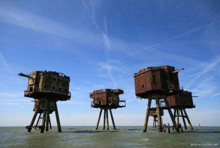 Великобритания. Морские форты Манселла