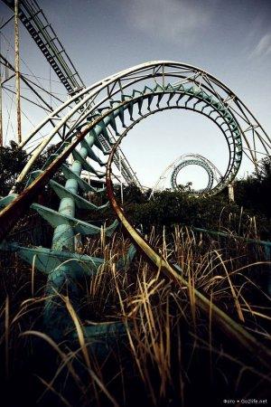 Япония, парк аттракционов Nara Dreamland