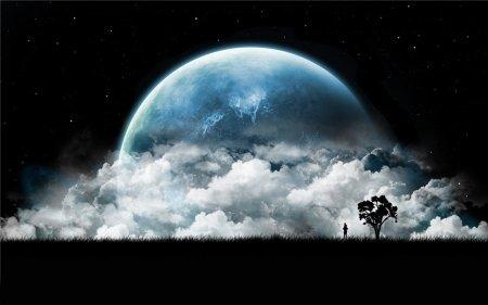 большая луна